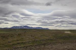 paysage de montagne accidenté photo