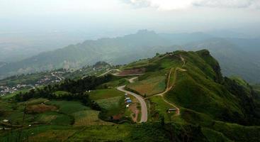 paysage de montagne oriental photo
