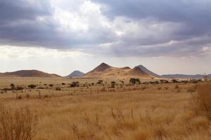 paysage désertique de la namibie fantastique photo