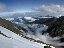beau paysage de montagnes