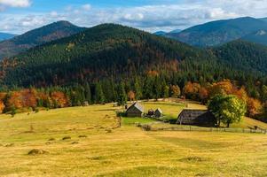paysage d'automne photo