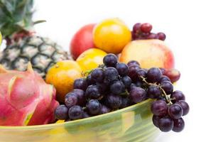 variété de fruits. photo