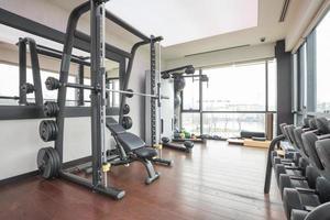 intérieur de la salle de gym