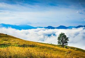 paysage de montagne incroyable photo