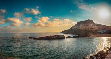 paysage de castelsardo, sardinia.tif photo