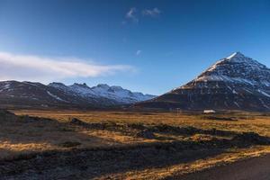 paysage d'hiver islande photo