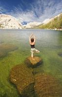 aqua yoga photo