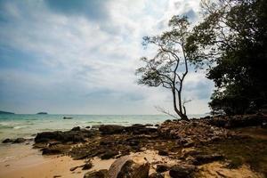 paysage tropical de koh rong photo