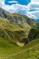 paysage de montagne spectaculaire. la dolomie. Italie.
