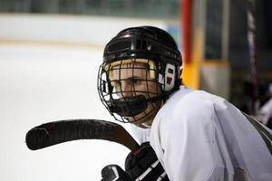 un joueur de hockey photo