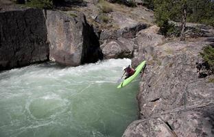 kayak d'eau vive photo