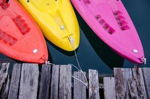 kayak de couleur photo