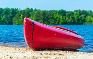 kayak rouge photo