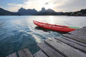 quai pour kayak