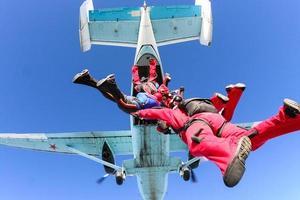 photo de parachutisme.