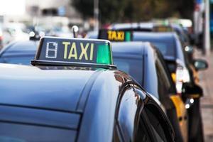taxis de barcelone photo
