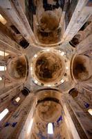 Plafond, dôme et fresques de l'église de l'île Akdamar