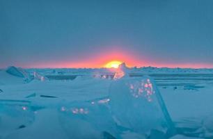 hiver du lac huron