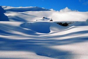 hiver, neige dérive, fond