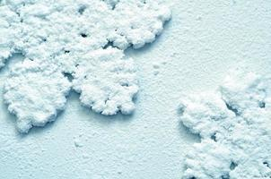 fond de neige d'hiver flocons de neige photo