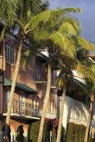 architecture de la plage de miami photo