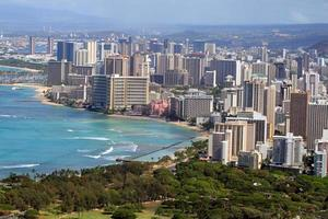 Waikiki Beach, Honolulu, Oahu, Hawaï