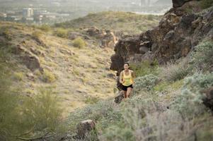 désert trail run photo