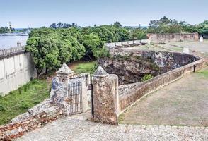 Rivière et forteresse d'Ozama, République dominicaine photo