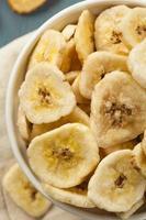 croustilles de banane déshydratées maison