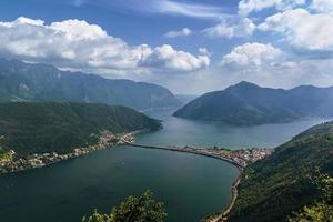 lac de lugano, suisse photo