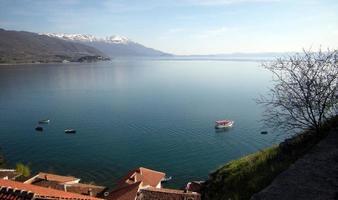 lac ohrid, macédoine photo