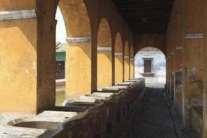 Bâtiments coloniaux à Antigua, Guatemala