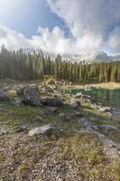 Dolomites du lac Carezza
