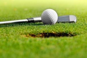 jouons au golf photo