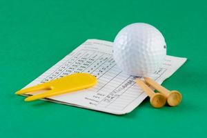équipement de golf photo