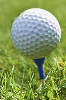 balle de golf photo