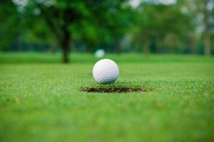 balle de golf. photo