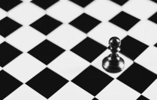 trait noir et blanc photo