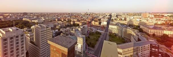 paysage urbain de Berlin photo