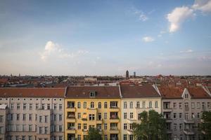 vues sur les toits de Berlin