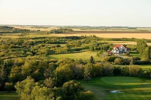 maison sur terrain de golf photo