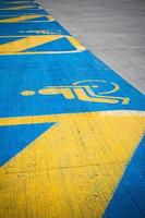 parking handicapés photo