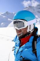 skieur, ski, sports d'hiver.