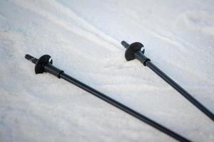 bâtons de ski photo