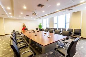 salle de réunion d'affaires au bureau photo