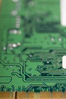 carte électronique de l'ordinateur. photo