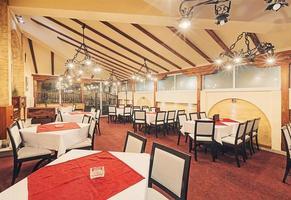 intérieur du restaurant photo