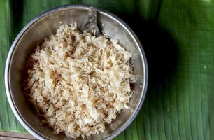 noix de coco sucrée