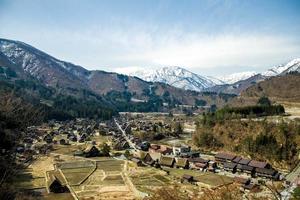 le village dans la vallée photo