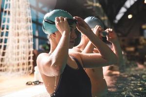 nageurs photo
